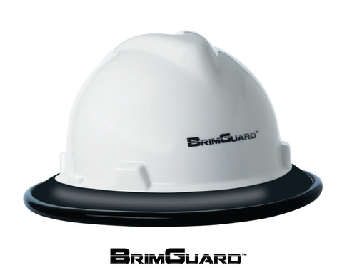 BrimGuard ID Hard Hat Full Brim Wide Protective Accessories