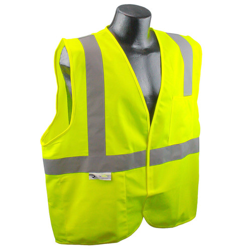 Radians SV2 Economy Safety Vest with Hook & Loop Closure TYPE R / CLASS 2