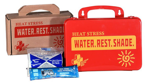 Certified Safety K613-040 Heat Stress Kit