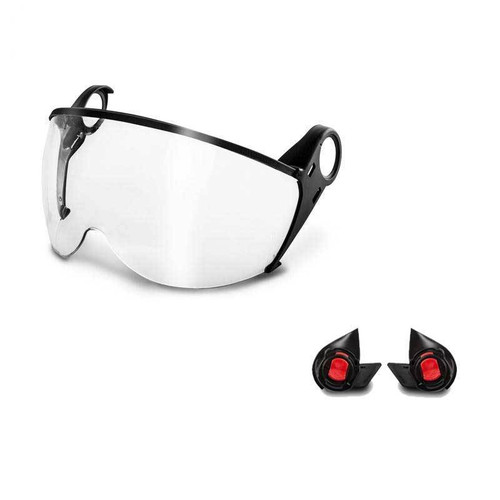 KASK Zenith Visor Kit (Visor and Adapter) Clear