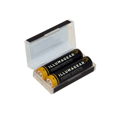 ILLUMAGEAR HARB-01A-X2 Lithium Ion Rechargeable Batteries (2-Pack)
