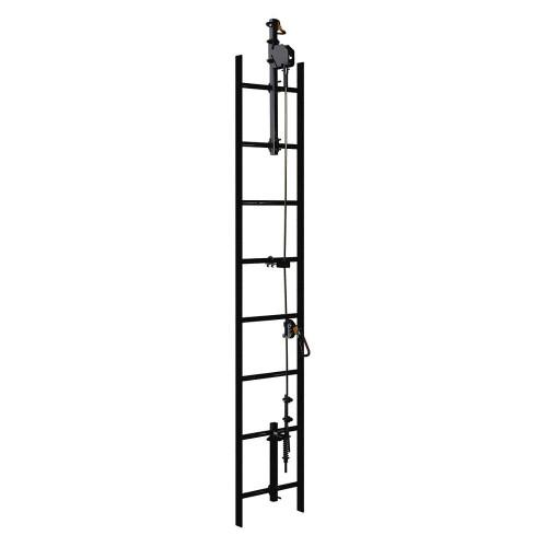 DBI SALA 6116612 Lad-Saf Cable Vertical Safety System Bracketry 2 User- Galvanized