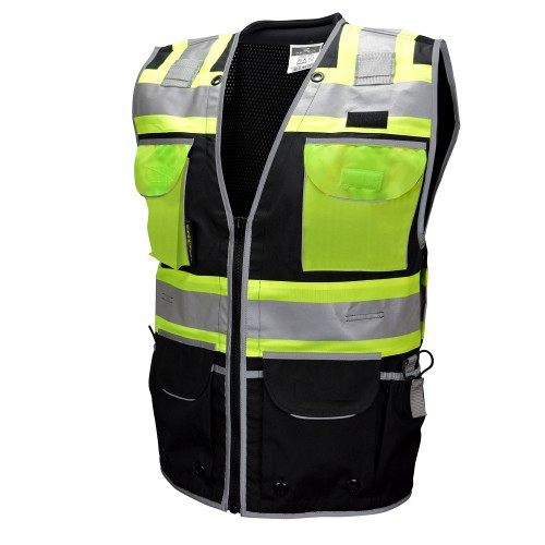 Radians SV55-1 Type O Class 1 Heavy Duty Two Tone Engineer Safety Vest