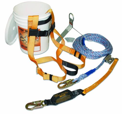 Miller TRK2000/50 Titan B-Compliant Roof Kit with 50' Lifeline