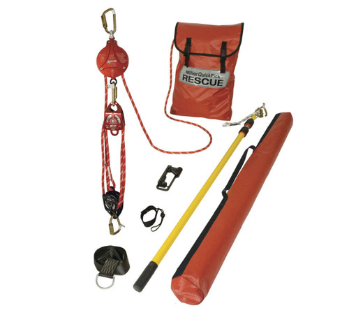Miller QP/25FT QuickPick Kit 25' Working Length Rescue System