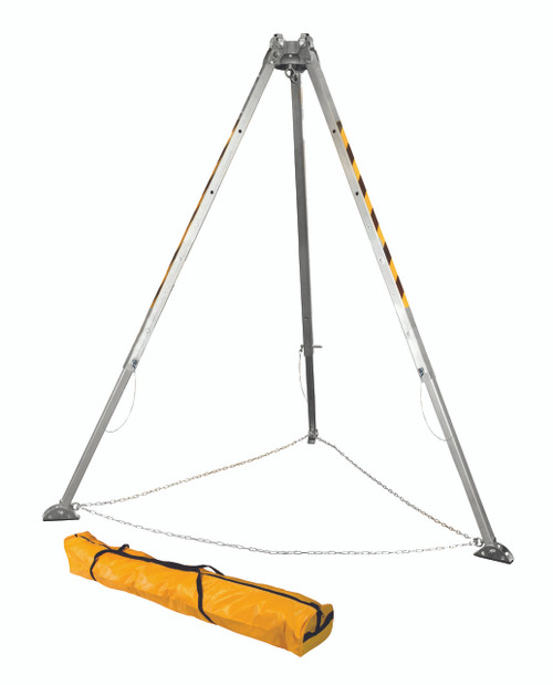 FallTech 7276 Adjustable 8' Aluminum Tripod