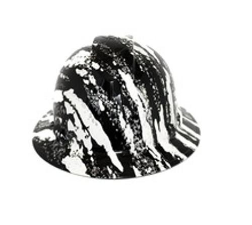 Pyramex HP541-UCW Urban Camo with Silver Streaks Full Brim Hard Hat