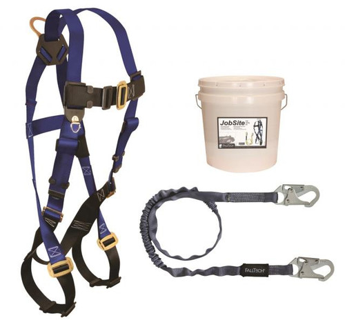 FallTech 9500Z Kit Includes Harness and Lanyard with Snap Hooks