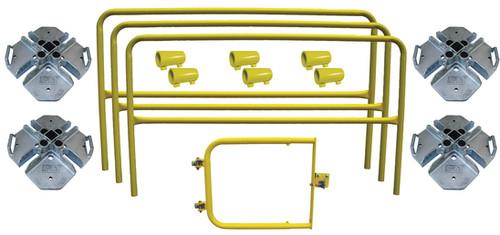 DBI SALA 7900008 Portable Guardrail Roof Hatch Kit