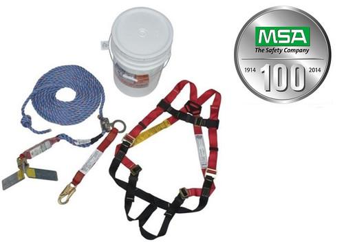 MSA 10055733 Complete Roofer's Kit