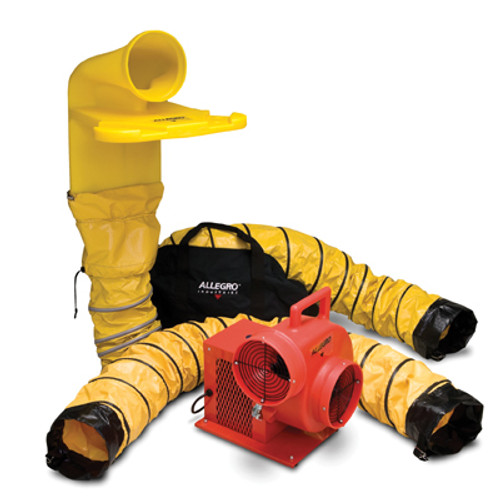 Allegro 9520-36M DC Plastic Blower System With MVP 8""