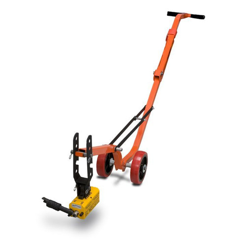 Allegro 9401-25A Magnetic Lid Lifter Aluminum Dolly 660lbs
