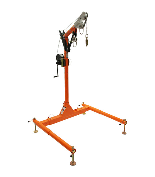 Falltech 6050228W Davit System with Personnel Winch 5pc
