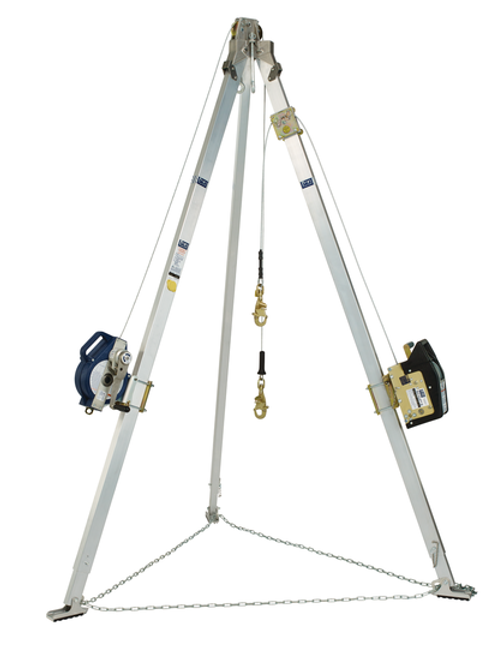 DBI Sala 8301069 3-Way 9' Tripod Combo With 60' Winch and 50' SRL
