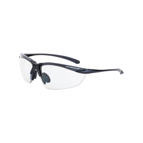 Crossfire  924 Sniper Premium - Clear lens, Matte Black Frame