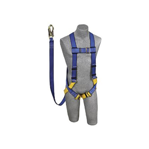 Protecta AB17532 Harness Kit with Attached 6' Shock Absorbing Lanyard