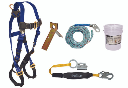 FallTech 8592A Complete Basic Roofers Kit