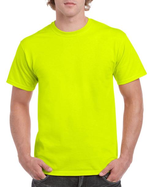 Gildan G5000 Heavy Cotton Adult Tee / Safety Green