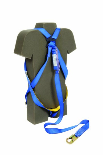 Protecta AB17515 Harness Kit with Attached 6' Shock Absorbing Lanyard