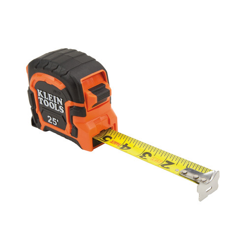 KLEIN TOOLS 86125 Non-Magnetic Tape Measure, 25-Foot