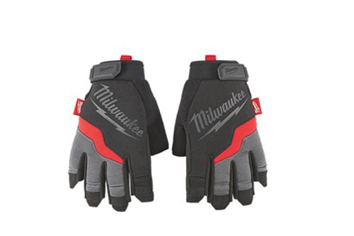 Milwaukee 48-22-87 Performance Fingerless Gloves Each