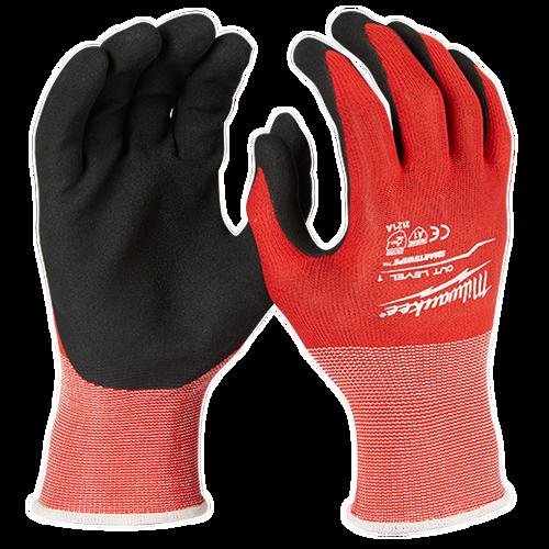 Milwaukee 48-22-89 Cut Level 1 Nitrile Dipped Gloves (Dozen)