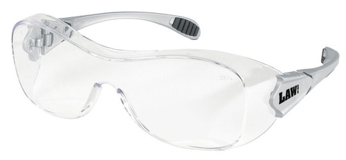 MCR OG110AF Law OTG Over-the-Glass Frame Clear Anti-Fog Lens (Dozen)