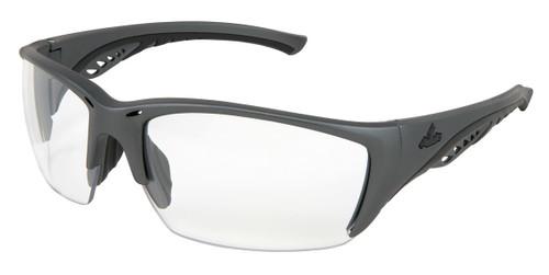 MCR UD310PF UD3 Series Gun Metal Color Frame Black TPR Clear MAX6 lens (Dozen)