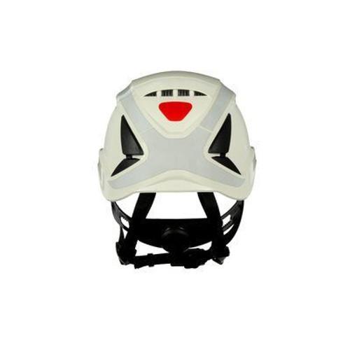 3M X5001VX-ANSI SecureFit Safety Helmet ANSI Vented and Reflective Ea