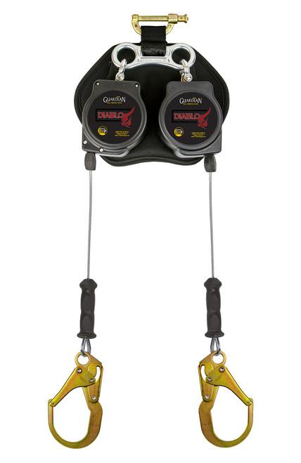 Guardian Double 8' Diablo Cable Rebar Hook SRL Leading Edge