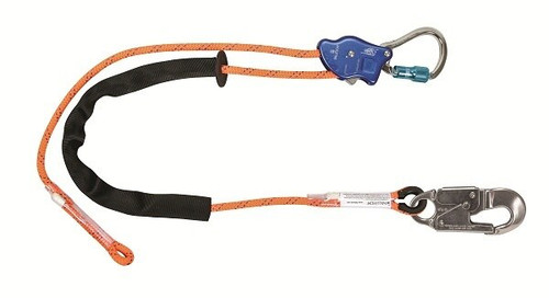 FallTech 8165D65 TowerClimber Adjustable Positioning Lanyard 6.5'