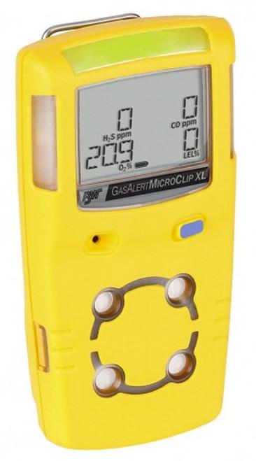 BW MCXL-XWHM-Y-NA GasAlertMicroClip XL Yellow Housing (LEL, O2, H2O, CO)