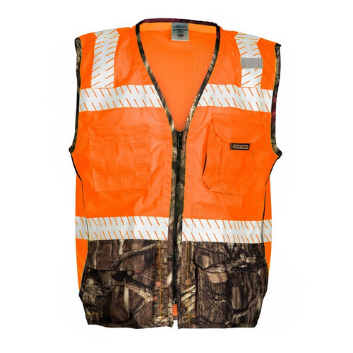 ML Kishigo 1524 Class 2 Orange Heavy Duty Vest