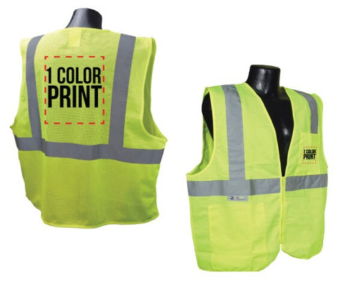 1 Color - Both Sides (Vest)