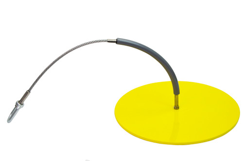 """Frontline Drop Thru Anchor 12"""" Round Plate with 2' Cable"""