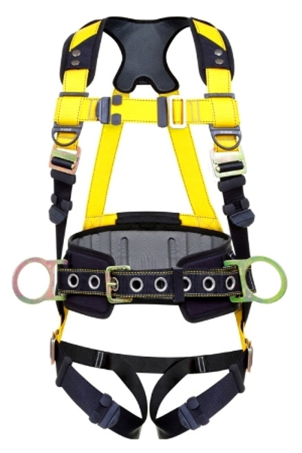 Guardian Series 3 Harness with Waist Pad QC chest TB legs 3-D-Rings