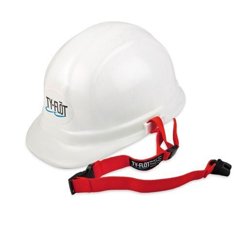 Ty-Flot Red Patented Hard Hat Lanyards (100 Pkg)