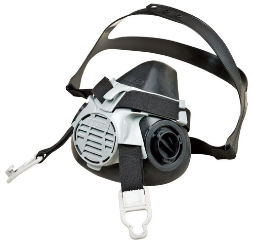 MSA Advantage 420 Half Facepiece Respirator with Comfo Adapter and GMI-P100 Cartridges