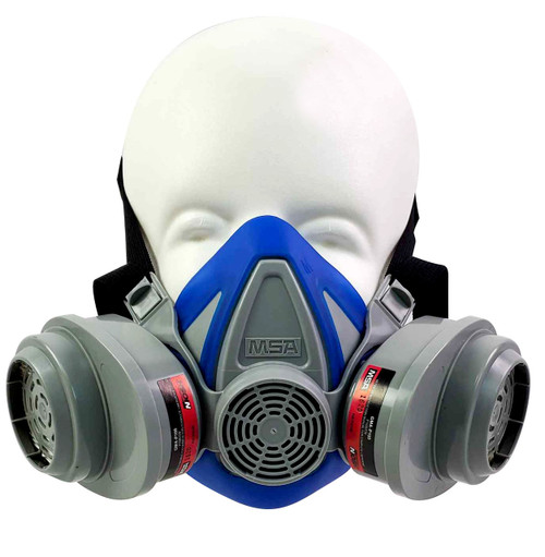 MSA Advantage 200 LS Respirator with GMA Multigas P100 Cartridges