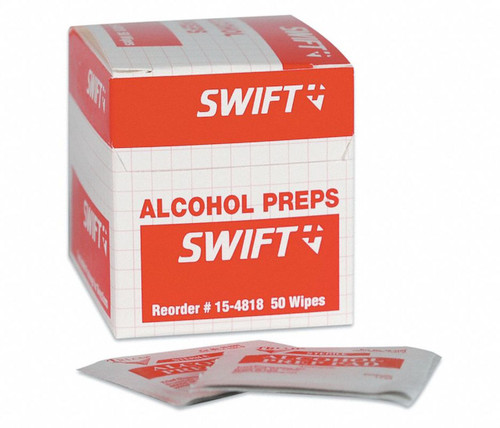 Honeywell 154818 Alcohol Preps Wipes Box/50 Wipes