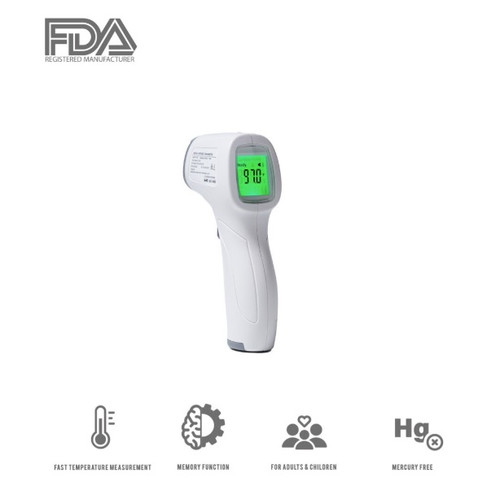 Non-Contact Multi-Functional Infrared Digital Thermometer (FDA Registered)