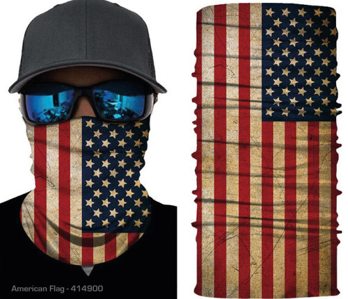 The American Patriot Multiple Use Face Cover Neck Tubes (3 Pack)