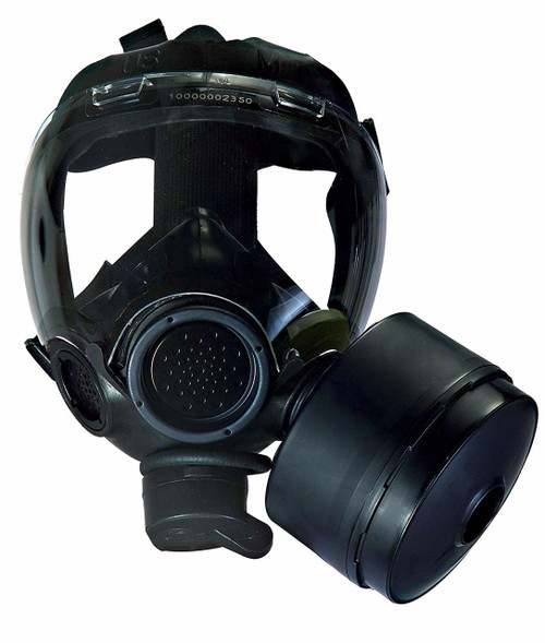 MSA Millennium Small Riot CBRN Full Face Gas Mask with Filter - NIOSH approved