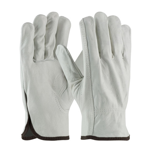 PIP 68-163 Regular Grade Top Grain Cowhide Leather Drivers Gloves