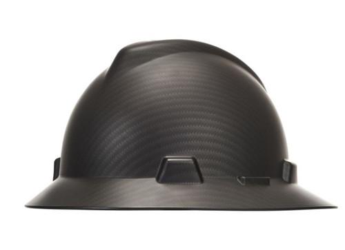 MSA 10204786 Sport Carbon Fiber V-Gard Hydro Dip Hard Hat