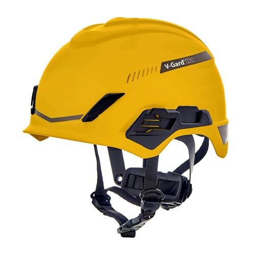 MSA V-Gard H1 Safety Helmet Trivent Fas-Trac III Pivot