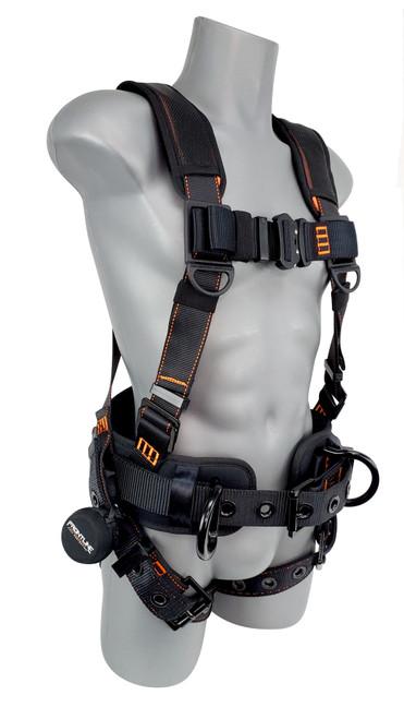 Combat Lite Full Body Harness all Aluminum Hardware and Suspension Trauma Straps