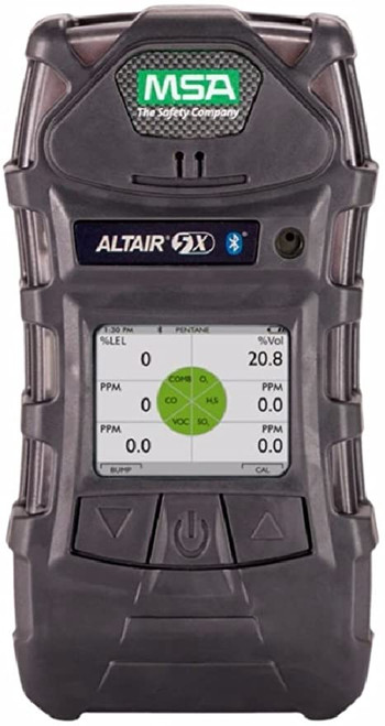 MSA 10160193 Altair 5X Gas Detector Color Display (LEL, O2, CO, H2S, HCN)