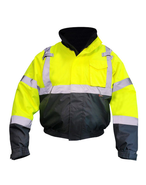 Fierce Safety 3-in-1 Superior Hi-Vis Class 3 Bomber Jacket