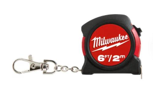 Milwaukee 48-22-5506C Keychain Tape 6Ft - 2M